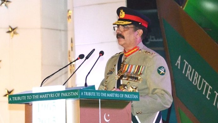 Gen. Sharif on Sept. 6, 2015