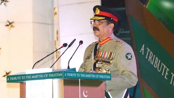 Gen. Sharif on Sept. 6, 2015