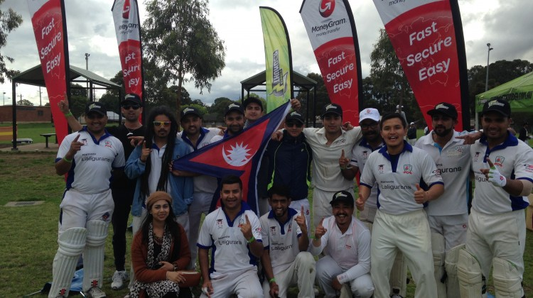 Sydney Thunder Nepali contest Team