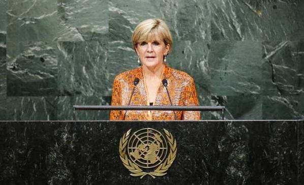 Australian FM in UN
