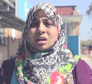 Talha Wahab's wife