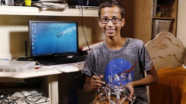 Teenage student, who was arrested in Texas after taking a homemade clock to school, accepts scholarship offer in Doha