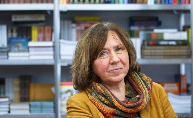 Svetlana Alexievich was awarded the 2015 Nobel Prize for Literature. Credit Reuters