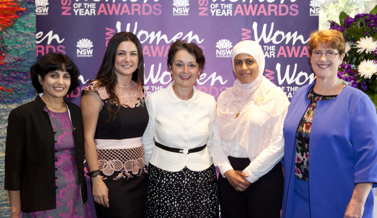 Nominations open for 2016 NSW Women of the Year Awards