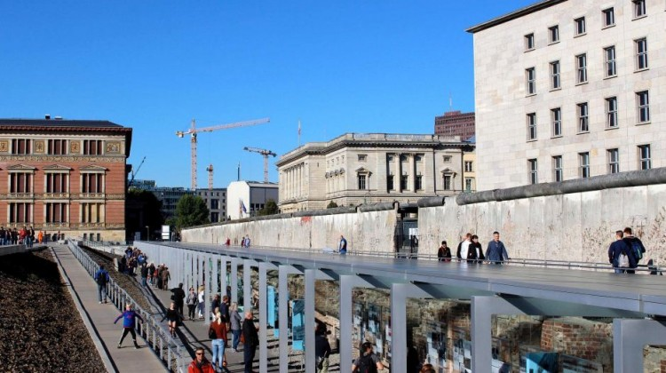 Berlin is home to some of the world's top historical and cultural institutions, including the Topography of Terror, an exhibition on the site of the former Gestapo headquarters. Photo: Andrew McCathie