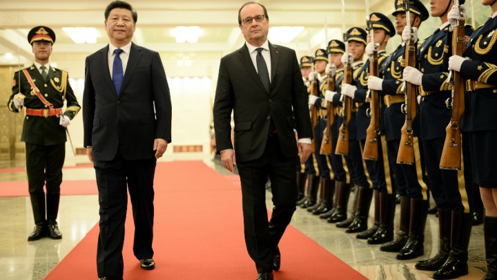 China,France agree on climate compliance checks