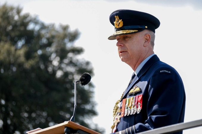 "Defence Force chief Mark Binskin says DHA is an ""essential service"" for ADF personnel and families. ABC News Photo: Gregor Salmon"