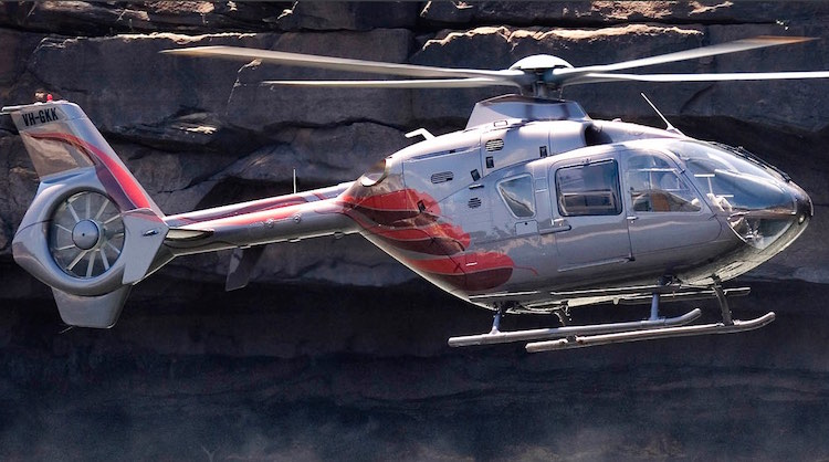 Richard Green's EC135 VH-GKK