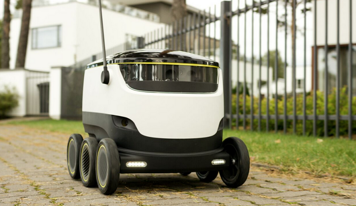 Self-driving delivery robot soon coming to sidewalks