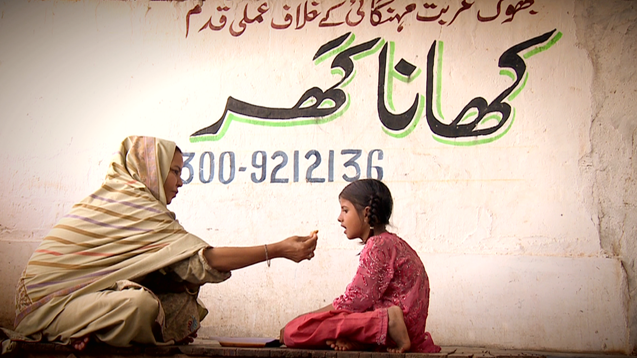 Parveen Saeed and her 'Khana Ghar' aims to eradicate hunger from Pakistan