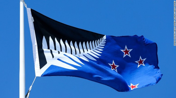 Silver fern tops New Zealand flag referendum