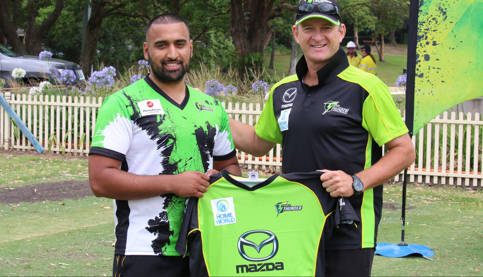 Nazir Shinwari joins the Sydney Thunder as Community Rookie