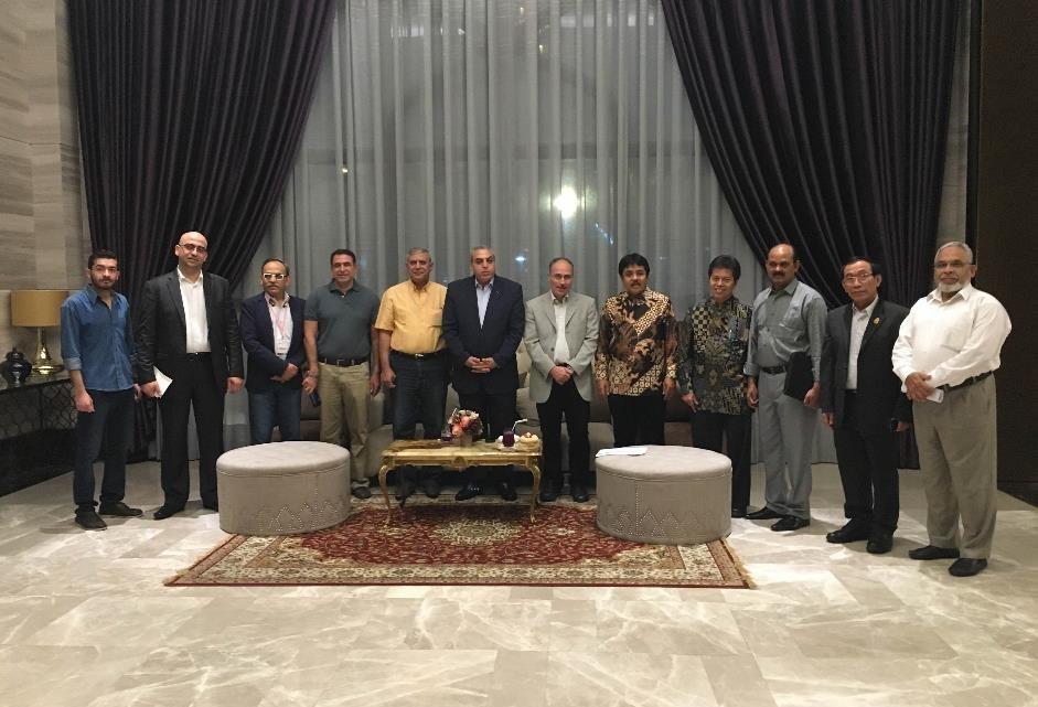 International Delegates & Speakers attending Thailand Halal Assembly 2015 at_Al-Meroz Hotel Bangkok