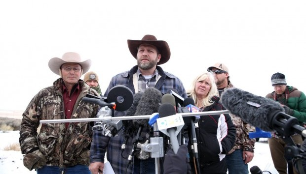 Ammon Bundy, one of the sons of Nevada rancher Cliven Bundy, speaks during an interview at Malheur National Wildlife Refuge, Tuesday, Jan. 5, 2016, near Burns, Ore. Beth Nakamura/The Oregonian