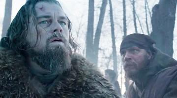 "Leonardo Di Caprio and Tom Hardy in the Trailer for ""The Revenant"""