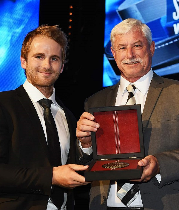 Kane Williamson's stellar year on the international cricket stage was recognised at the 2016 ANZ New Zealand Cricket Awards