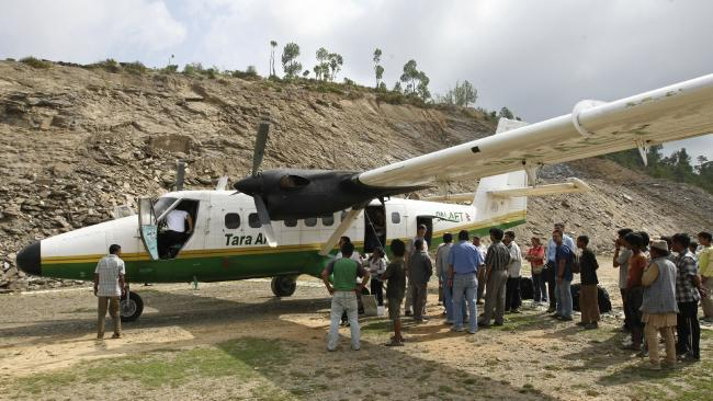 A 2010 photograph of a Tara Air DHC-6 Twin Otter aircraft, similar to one that crashed in Nepal.