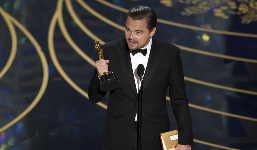 Leonardo DiCaprio wins Best Actor for The Revenant