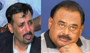Mustafa Kamal and Altaf Hussain