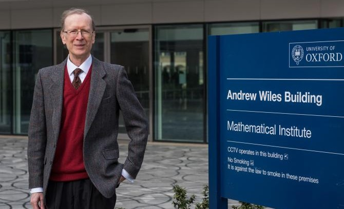Oxford professor, Andrew Wiles, wins $700k for solving 300-year-old math equation