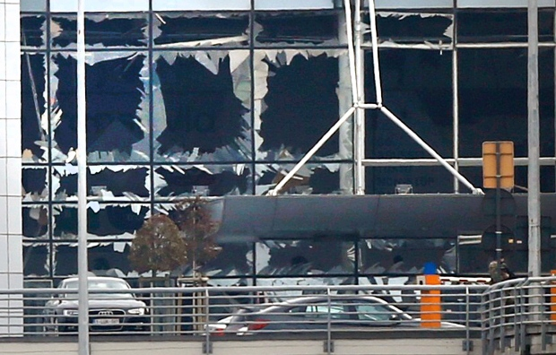 Multiple explosions hit Brussels airport, metro station on 22 March 2016