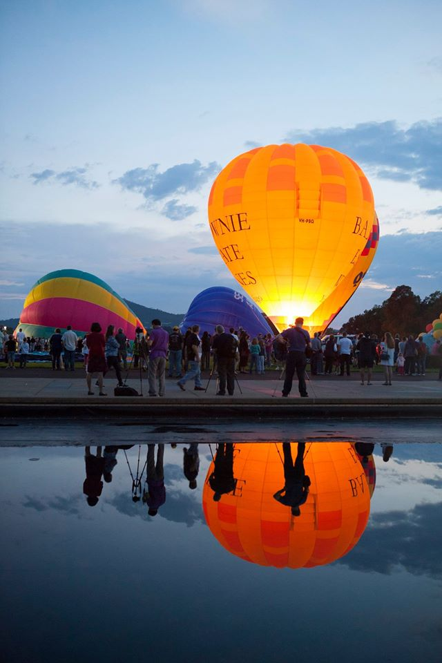 The iconic Canberra Balloon Spectacular 2016