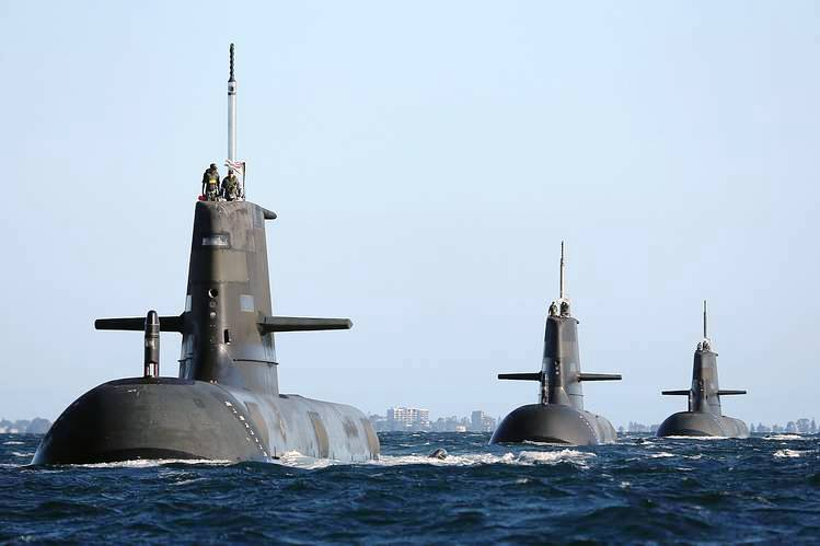 Australian Collins class submarine