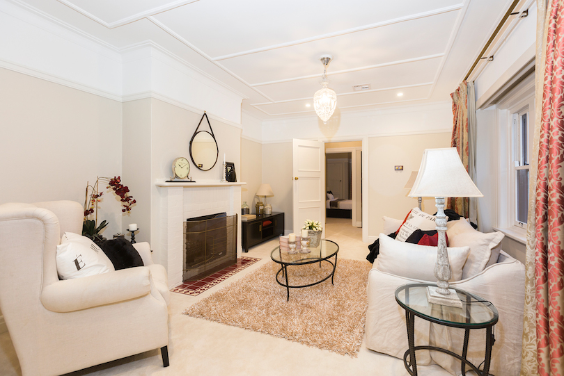 Former treasurer Joe Hockey has sold his Canberra home for $1.515 million — making a profit of more than $1 million. Photo: LJ Hooker Canberra City.
