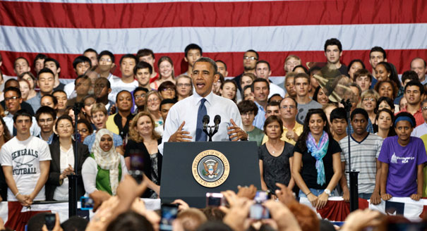 Obama says the government will help 387,000 permanently disabled people get their student debt forgiven