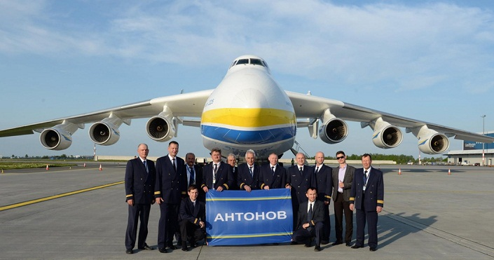 World's biggest plane Antonov An-225 Mriya leaves Australia for Italy