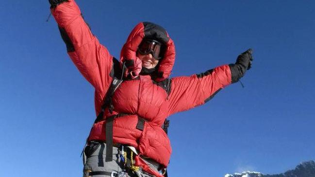 Monash University business lecturer Maria Strydom has died from altitude sickness after reaching the summit of Mount Everest. Source: Facebook