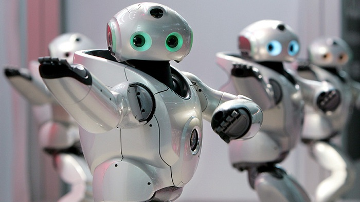 Robots take over jobs