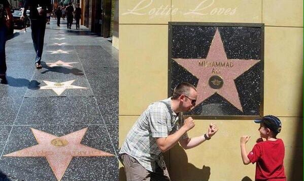 Why Muhammad Ali's star is on the wall, not the Walk of Fame