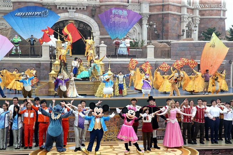 Shanghai Disney Resort opening ceremony