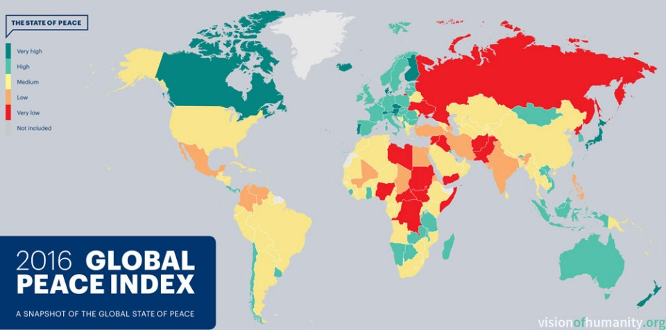 Global Peace Index 2016