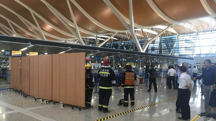 Explosion injures at least four people in east China's Shanghai, June 12, 2016