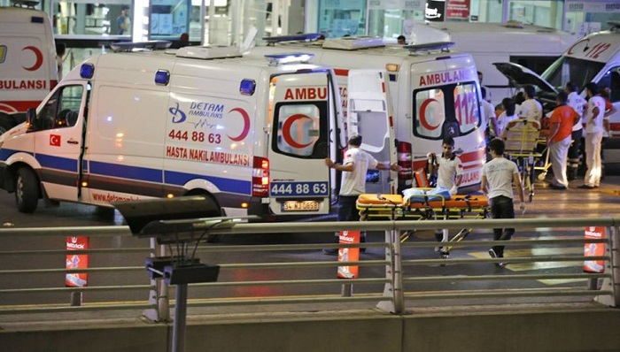 At least 41 dead, 200 injured in Istanbul airport blasts