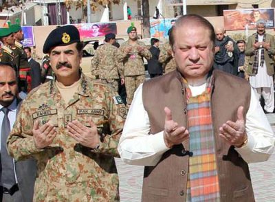 General Raheel Sharif and Nawaz Sharif