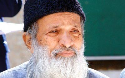Edhi Foundation Chairman Abdul Sattar Edhi