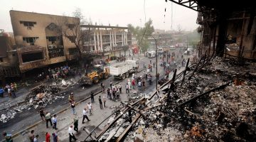 At least 131 killed in biggest terror attacks in Baghdad this year