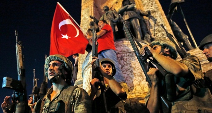 Turkey's coup attempt foiled by Erdogan government