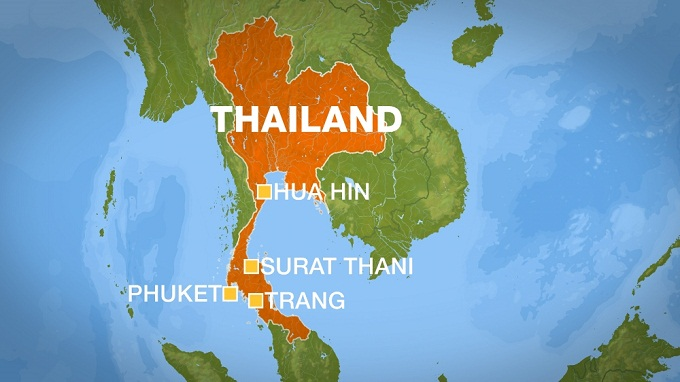 Series of deadly explosions hit tourist towns of Thailand