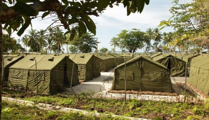 A view of facilities at the Manus Island Regional Processing Facility in Papua New Guinea in 2012. For years, the facility has been used to indefinitely detain asylum-seekers; Australia and Papua New Guinea have now agreed to close it. Photo: Australian Department of Immigration and Citizenship via Getty Images