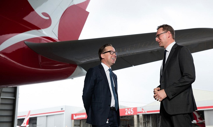 Qantas Group CEO Alan Joyce and Tourism Australia Managing Director John O'Sullivan signed $20 million deal, marking a new era of partnership between the two organisations.