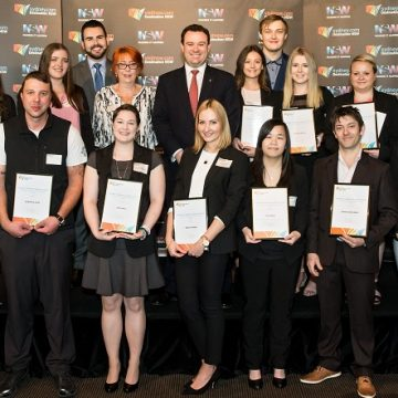 Awards ceremony celebrate the achievements of NSW 2016 Minister's Student Achiever Awards