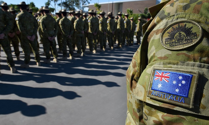 Australian defence force personnel would be empowered to strike Islamic State 'at its core', Malcolm Turnbull said on Thursday. Photograph: Dave Hunt/AAP