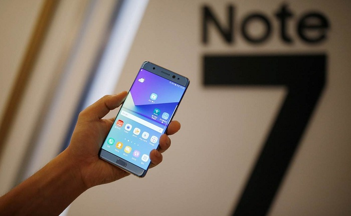 Samsung halts Galaxy Note 7