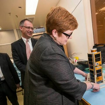 Defence Science and Technology Group is collaborating with the University of New South Wales in Canberra on an innovative space research program using miniature satellites.