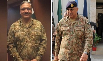 General Qamar Javed Bajwa appointed as new Pakistan Army Chief and General Zubair Hayat has been appointed as the new Chairman Joint Chiefs of Staff Committee
