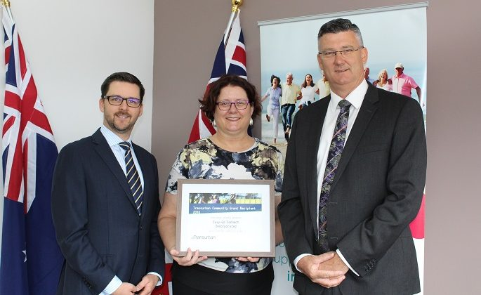 Easy-Go Connect awarded Transurban Community Grant